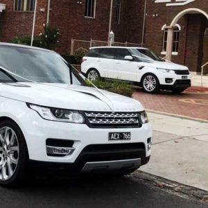 Range Rover Wedding Car Hire Melbourne