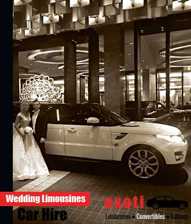 Wedding Limousines/Limo Hire Melbourne
